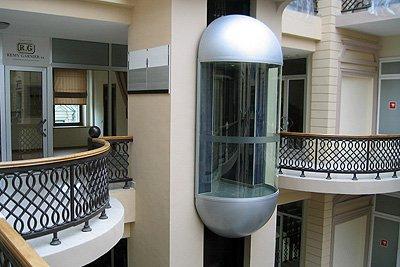 Лифт пассажирский установка