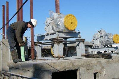 Монтаж ліфтового устаткування і шахт ліфтів