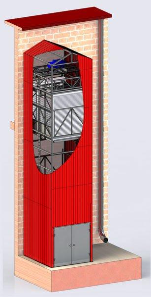 вантажний ліфт або підйомник